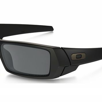 6948b2bfed OAKLEY GASCAN 12-856 Matte Black Black Iridium Polarized Sunglas. Oakley  sunglasses