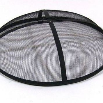 "40"" Round Fire Pit Spark Screen Cover"