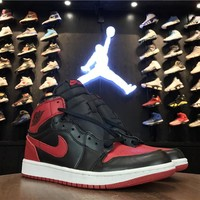 Best Deal Online Nike Air Jordan 1 High Retro OG Bred Men Sneakers 555088-023