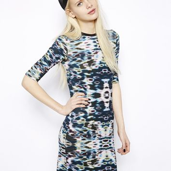 Monki Jewel Print Dress