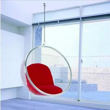 Space Chair,bubble chair,indoor swing chair,space sofa,transparent sofa,Hanging Bubble Chair+Acrylic Material+Transparent Color