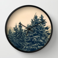Strange Days Wall Clock by Tordis Kayma