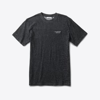 Stone Cut Speckle Tee in Pepper