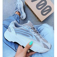 Adidas Yeezy 700 Women Men New Fashion Runner Boost Fashion Casual Retro Running Sport Shoes