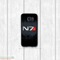 Original Design, Mass Effect N7, Custom Phone Case for Galaxy S4, S5, S6