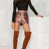 Alice McCall Catalina Brocade Shorts
