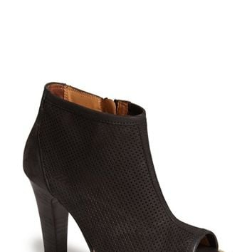 "Women's Paul Green 'Beacon' Perforated Open Toe Bootie, 4"" heel"