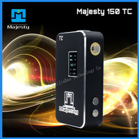 Original High Quality Dual 18650 Battery Ecig VAPE Mod Majesty 150W tc Box Mod VS Cloupor T8 Box Mod