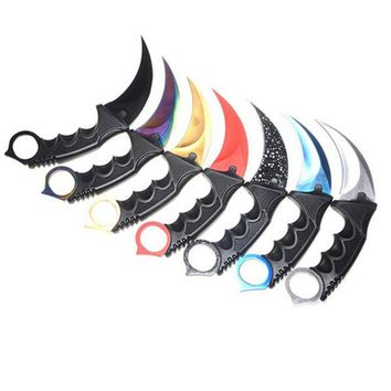 Fighting Survival Tactical Knife Claw Camping Knifes Tools