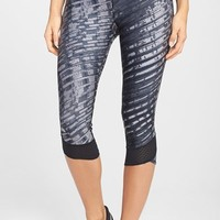 Women's Under Armour 'Fly By' Print Compression Capri,