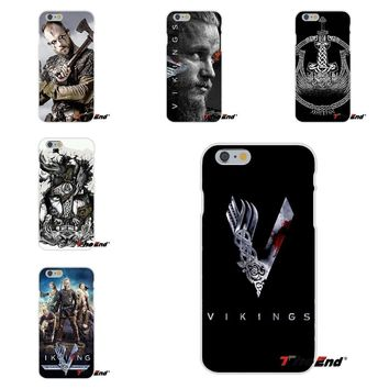 vikings Ragnar Vikings Season 3 TV Series Silicone Cases For Samsung Galaxy S3 S4 S5 MINI S6 S7 edge S8 Plus Note 2 3 4 5