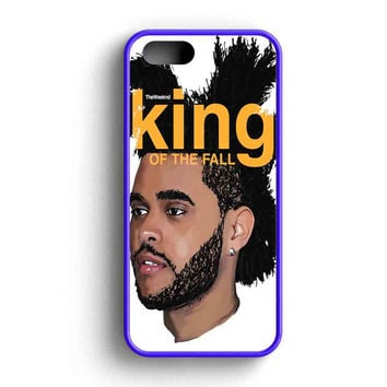 The Weeknd King Of The Fall iPhone 5 Case iPhone 5s Case iPhone 5c Case