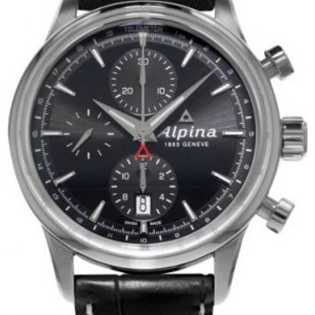 Alpina Alpiner Mens Chronograph Automatic Watch AL-750B4E6