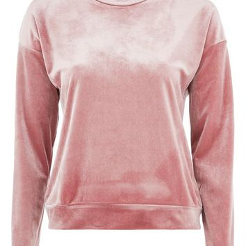 **Velvet Sweat Top by Nobody's Child