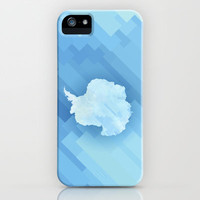 Antarctica iPhone & iPod Case by Deniz Erçelebi