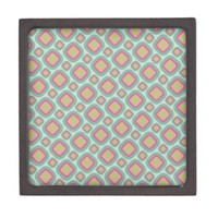 funky retro square pattern