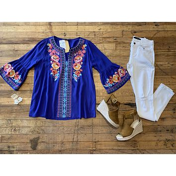 Bright on Point Tunic