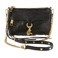 Mini MAC Crossbody Bag, Black - Rebecca Minkoff