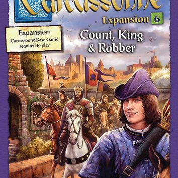 Carcassonne: Expansion 6 - Count, King, & Robber