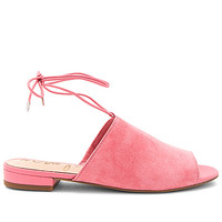 Sam Edelman Tai Slide in Sugar Pink Suede