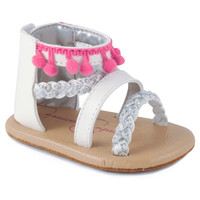 Jessica Simpson Pom Sandal in White