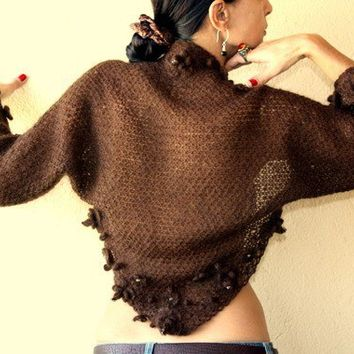 Brown Dahlia by lilithist on Etsy