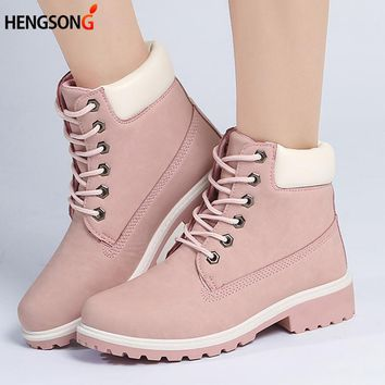 Fashion Motocycle booties Women Boots Botas Female Womens Ankle Boots Square Heel Martin Boots Autumn Shoes Camouflage PA868294