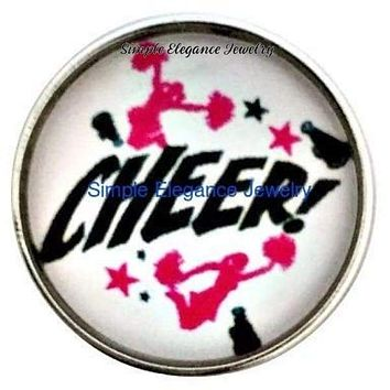 Cheerleader Snap 20mm for Snap Charm Jewelry
