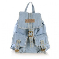 Old Blue Jeans Backpack