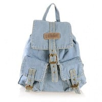Blue Jeans Backpack