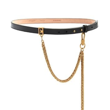 Chain-detail leather belt | Givenchy | MATCHESFASHION.COM UK