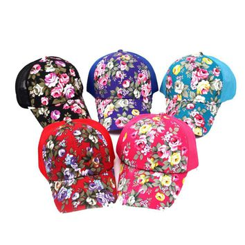 Cute Cotton Embroidery Baseball Cap Snapback