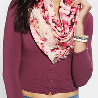Urban Outfitters - Bleached Plaid Eternity Scarf