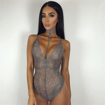 Hot Deal Cute On Sale Summer Women's Fashion Sexy Slim Lace One-piece Exotic Lingerie