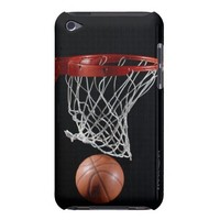 Basketball in Hoop iPod Touch Cases from Zazzle.com