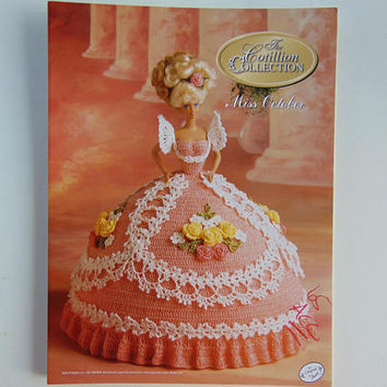 The Cotillion Collection Miss October Pattern Society Fashion Barbie Doll Crochet Pattern Annies Attic