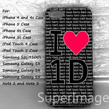 Personalized Case,I 3 one direction Phone Case,iPhone 5s/5c Case,iPhone 4/4S/5 Case,iPod Touch 4/5,Samsung Galaxy S2/S3/S4/S5 Case,Note 2/3