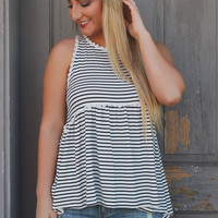 Desert Oasis Top - Striped