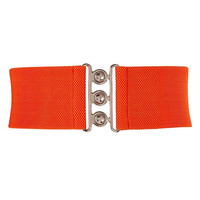Fashion Wide Metal Hook Stretchy Elastic Waist Belt Waistband Stretchy Elastic Waist Belt Waistband Belts for Women Colorful