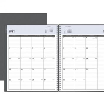July 2015 - June 2016 Enterprise Weekly/Monthly Planner 8.5 x 11