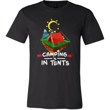 Cool Camping Is In Tents Campers, Vacation T Shirt