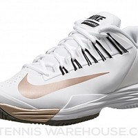 Nike Lunar Ballistec White/Black/Bronze Women's Shoe