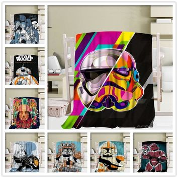 New Arrival Star Wars Blankets 3D Printing Soft Blanket Throw On Home/Sofa/Bedding Portable Adult Travel Cover Blanket