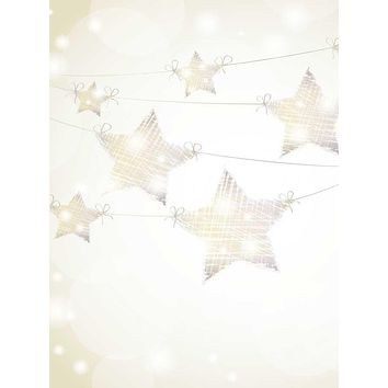 String Lights Stars Backdrop - 9315