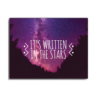 Written in the Stars Wall Canvas
