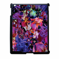 Lush Floral Pattern Beaming Orchid Purple iPad 3 Case