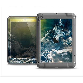 The Bright Sun Over Cloud-Magic Apple iPad Air LifeProof Nuud Case Skin Set