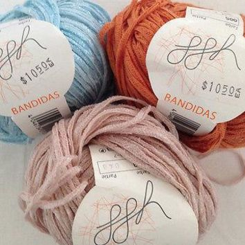 GGH BANDIDAS - BULKY WEIGHT - COTTON/ACRYLIC BLEND - RIBBON YARN