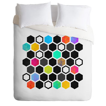 Elisabeth Fredriksson Hexagons Duvet Cover