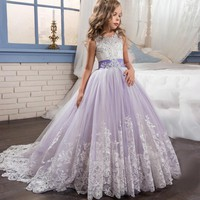 Princess Flower Girl Dress 553790294212 2-13 years old